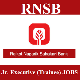 Rajkot Nagarik Sahakari Bank, RNSB, Bank, Junior Executive, Trainee, Graduation, Gujarat, freejobalert, Sarkari Naukri, Latest Jobs, rnsb logo