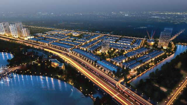 Phối cảnh dự án KĐT Tây Bắc, Liên Chiểu, Đà Nẵng