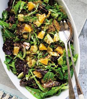 Resep Kuliner Citrus Salad dengan Crispy Quinoa