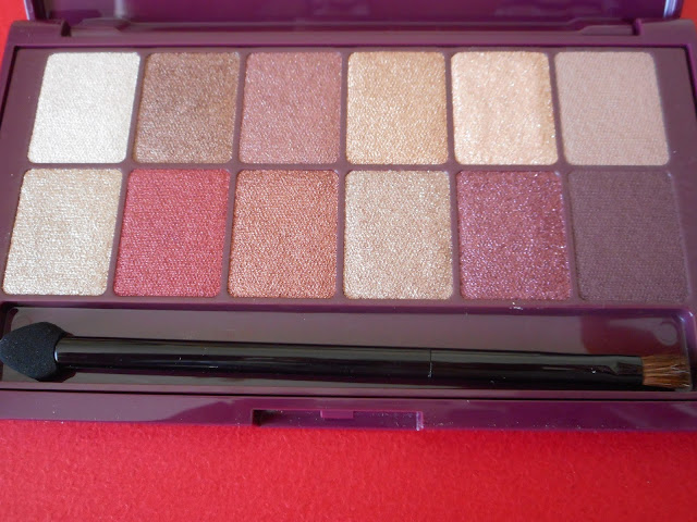 Maybelline The Burgundy Bar palette