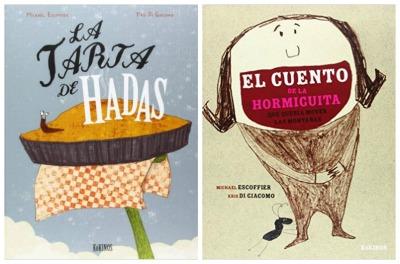 cuentos divertidos infantiles La tarta de hadas y El cuento de la hormiguita