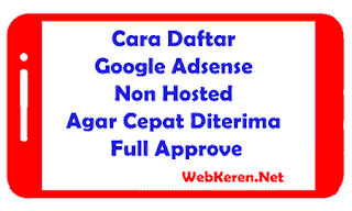 Overcome Rejected Adsense Lists