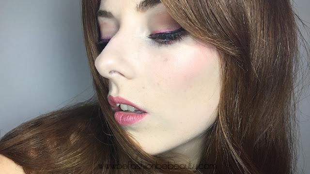 Resultados del maquillaje de tarde para el verano.