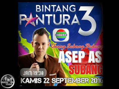Asep As Pedangdut Subang Lolos Audisi Bintang Pantura 3