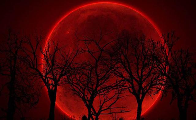 Peristiwa Langka Gerhana Bulan Total, Bulan Akan Tampak Berwarna Merah Darah Pada 31 Januari 2018 Mendatang