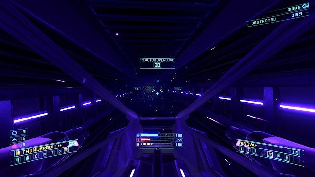 Overload - blue corridor
