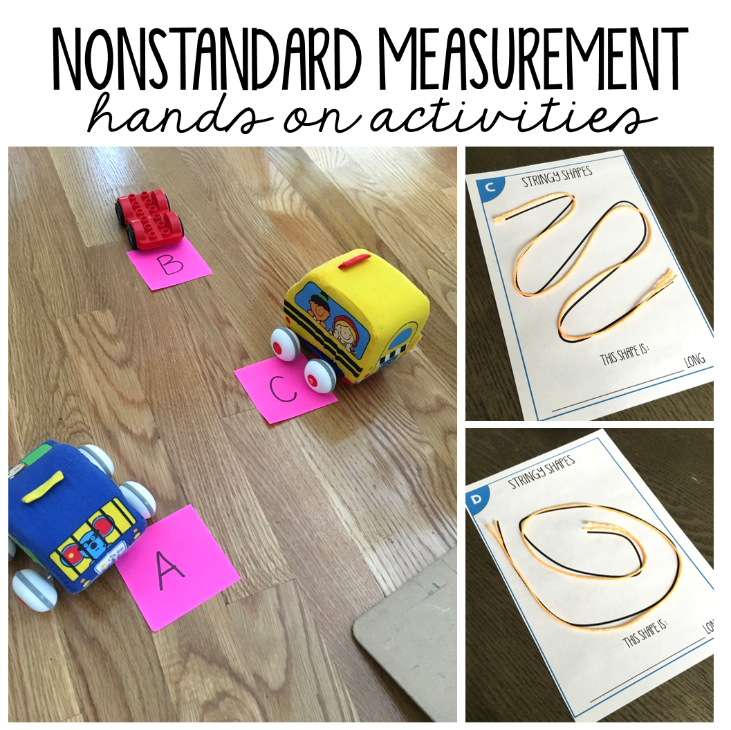 Nonstandard Measurement Activities For First Grade