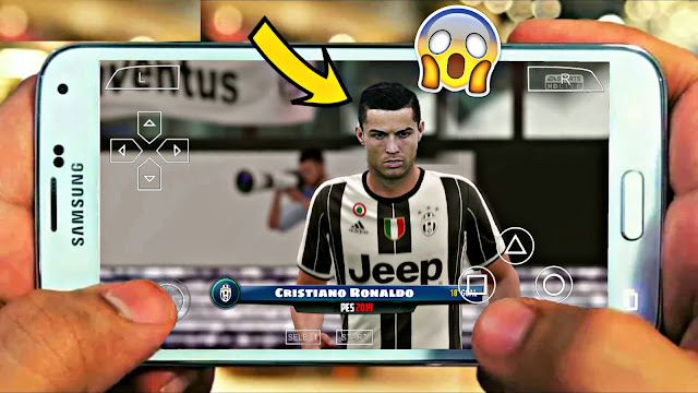Download PES 2018 Lite Best Graphics Android Real Faces + New Camera PS4