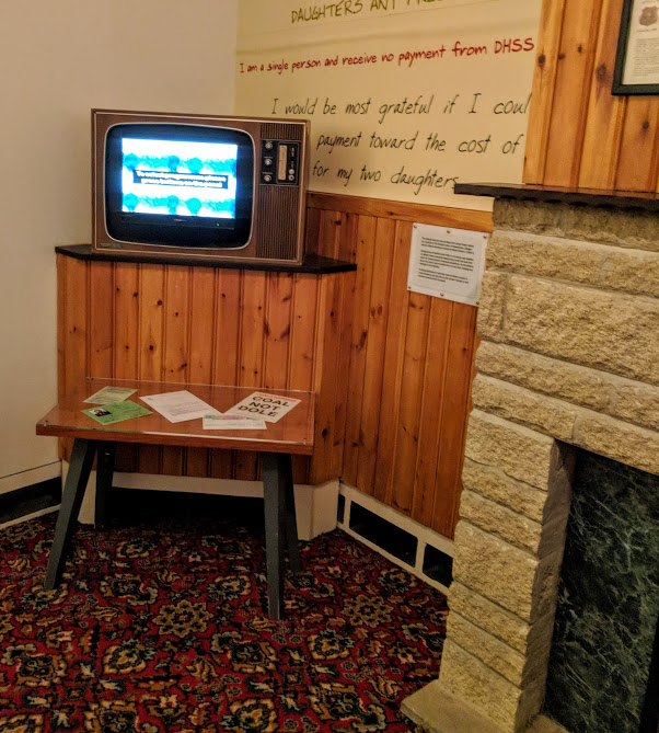 10 Reasons to Visit Woodhorn Museum (A Review) - 70s living room and TV