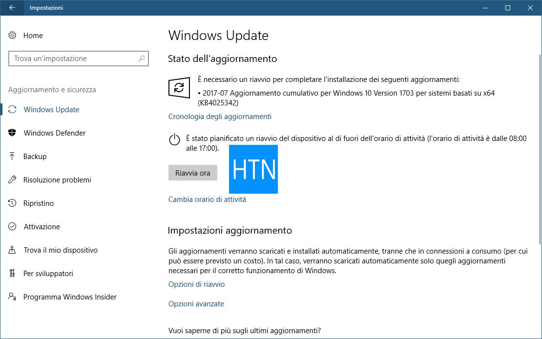 Aggiornare-Windows-10