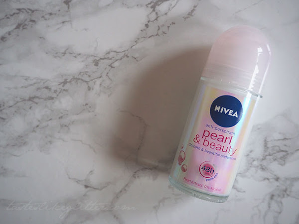 Nivea Pearl & Beauty Roll On.