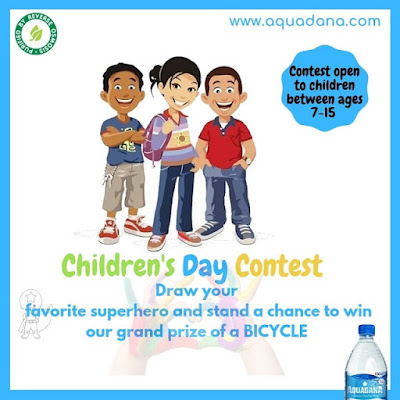 Win a BICYCLE in AQUADANA Children's Day Contest 2019