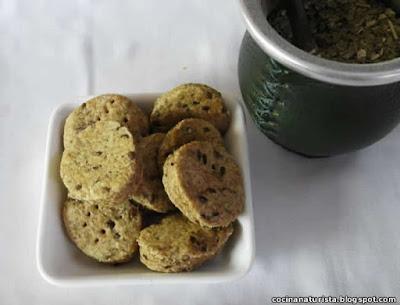 bizcochos integrales,galletitas saladas,semillas,naturistas,saludables
