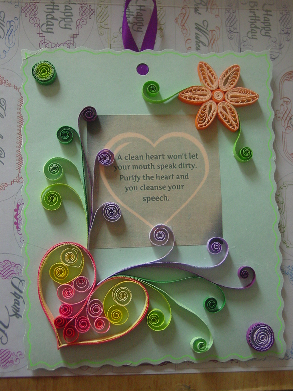 paper craft cards ideas faith s quilling my quillings 5079