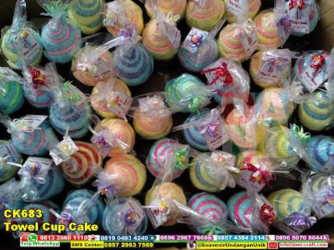 jual Towel Cup Cake