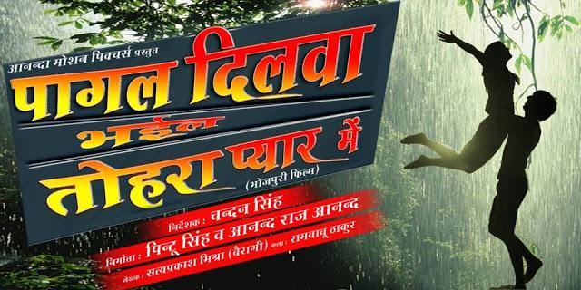 Sunil Sagar, Akshra Singh, Galori Mohanta, Manoj Tiger, Dipak Bhatiya, Nisha Dube, C.P. Bhat Bhojpuri movie Pagal Dilwa Bhail Tohra Pyar Me 2017 wiki, full star-cast, Release date, Actor, actress, Song name, photo, poster, trailer, wallpaper