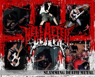 Hell After Death Band Slamming Death Metal Cianjur Logo Artwork Cover Foto Personil Wallpaper