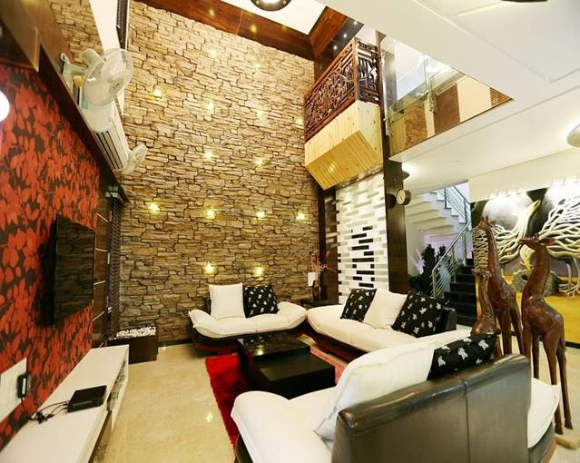 Contractors in Chennai: Wall Cladding interior works ...
