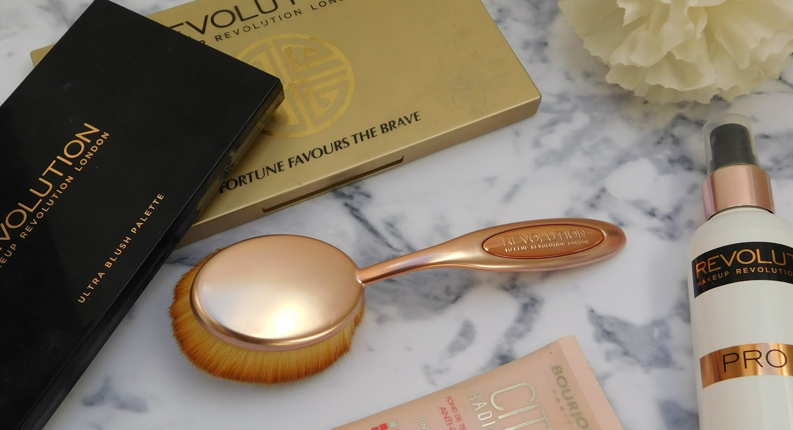 Makeup Revolution Precision Oval Brush Collection - First Impressions