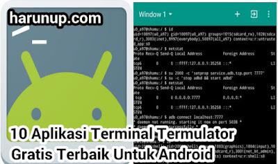 10 Aplikasi Terminal Emulator Gratis Terbaik untuk Android