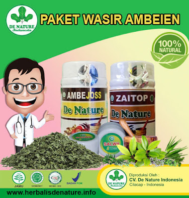 Obat Wasir Alami De Nature