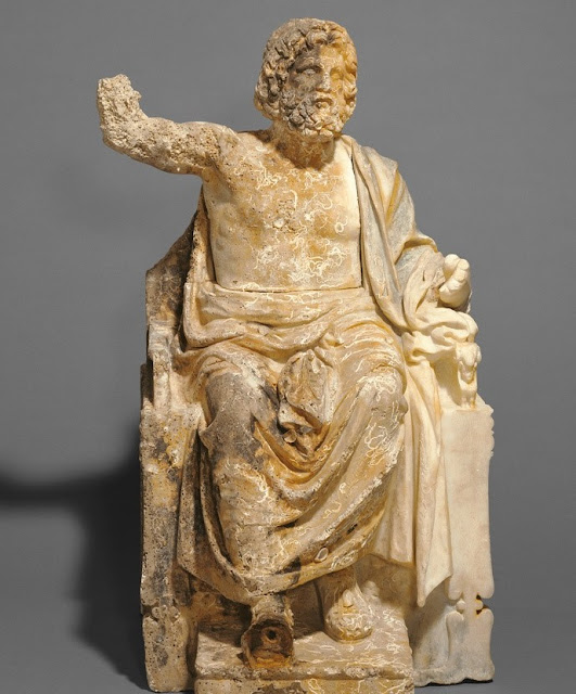 The J. Paul Getty Museum to return 'Statue of Zeus Enthroned' to Italy