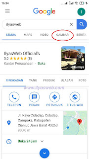 cara download gambar di google