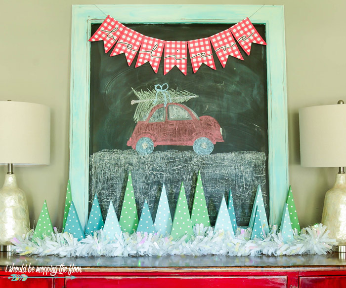 Holiday Chalkboard
