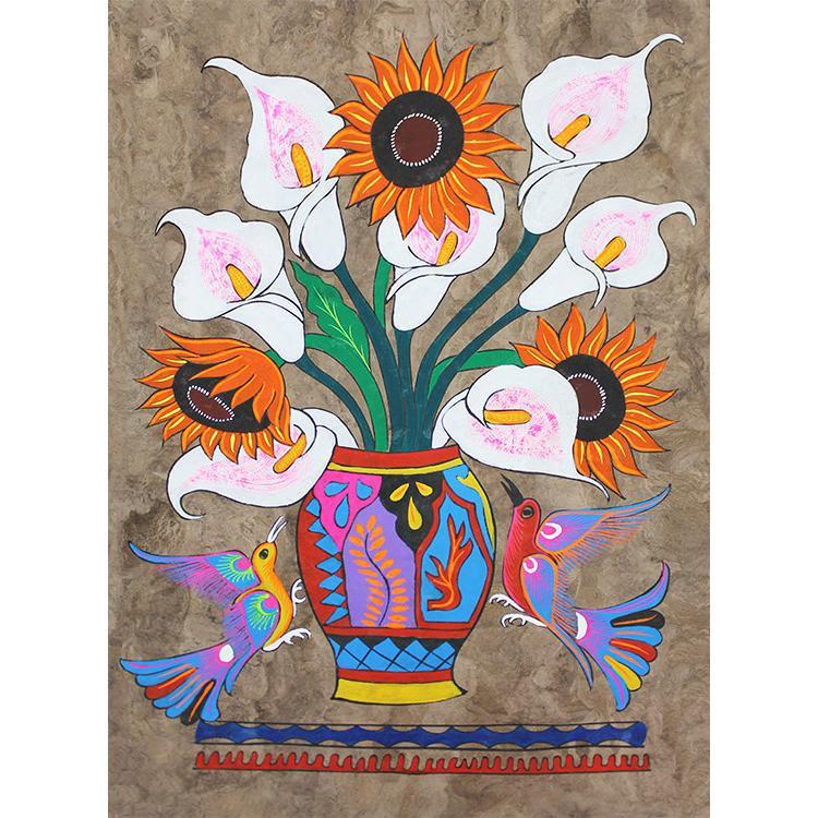 Amate Paper Paintings Folk Art
