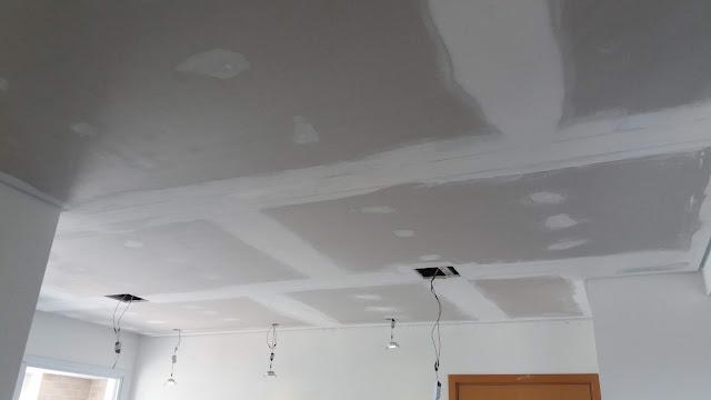Rebaixo de teto drywall SP