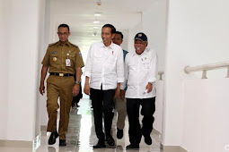 Presiden Jokowi ke Anies: Di Jakarta Kalau Sakit Mahal