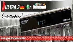 ATUALIZAÇÃO PHANTOM ULTRA 3 HD  V1.2.67 - 02/12/2016