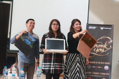laptop acer terbaru di tahun 2019