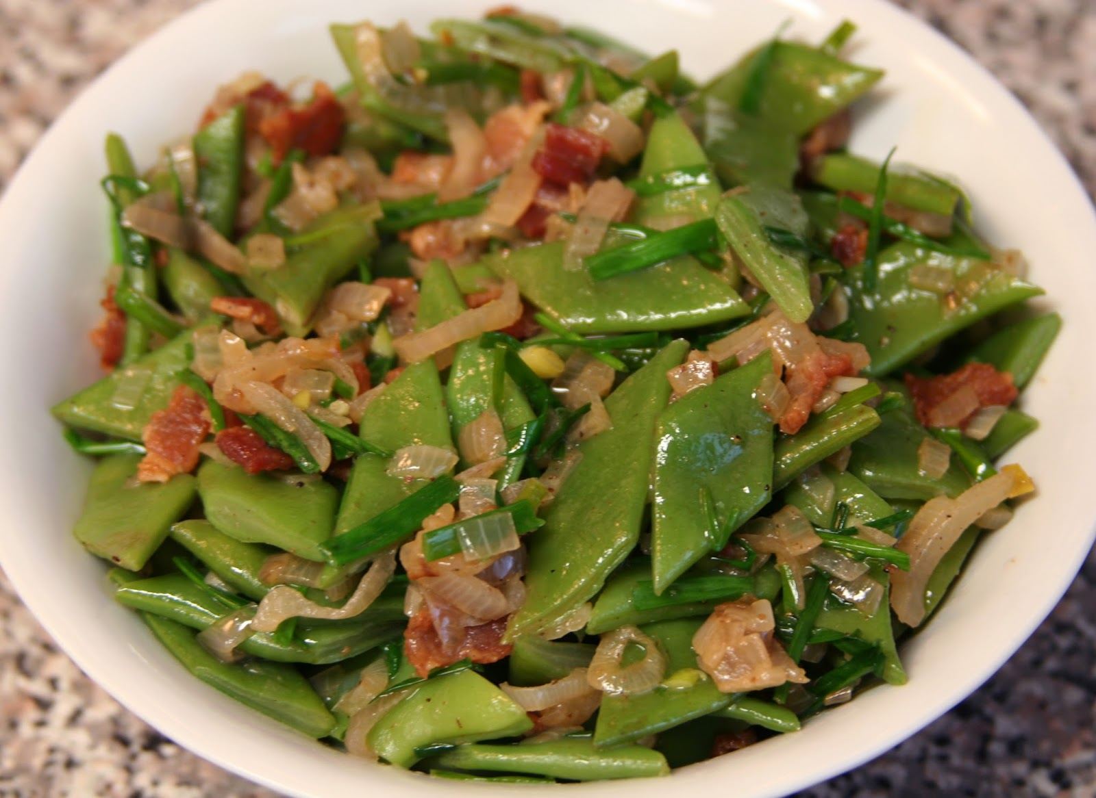 Culturally Confused Food And Style Romano Beans With