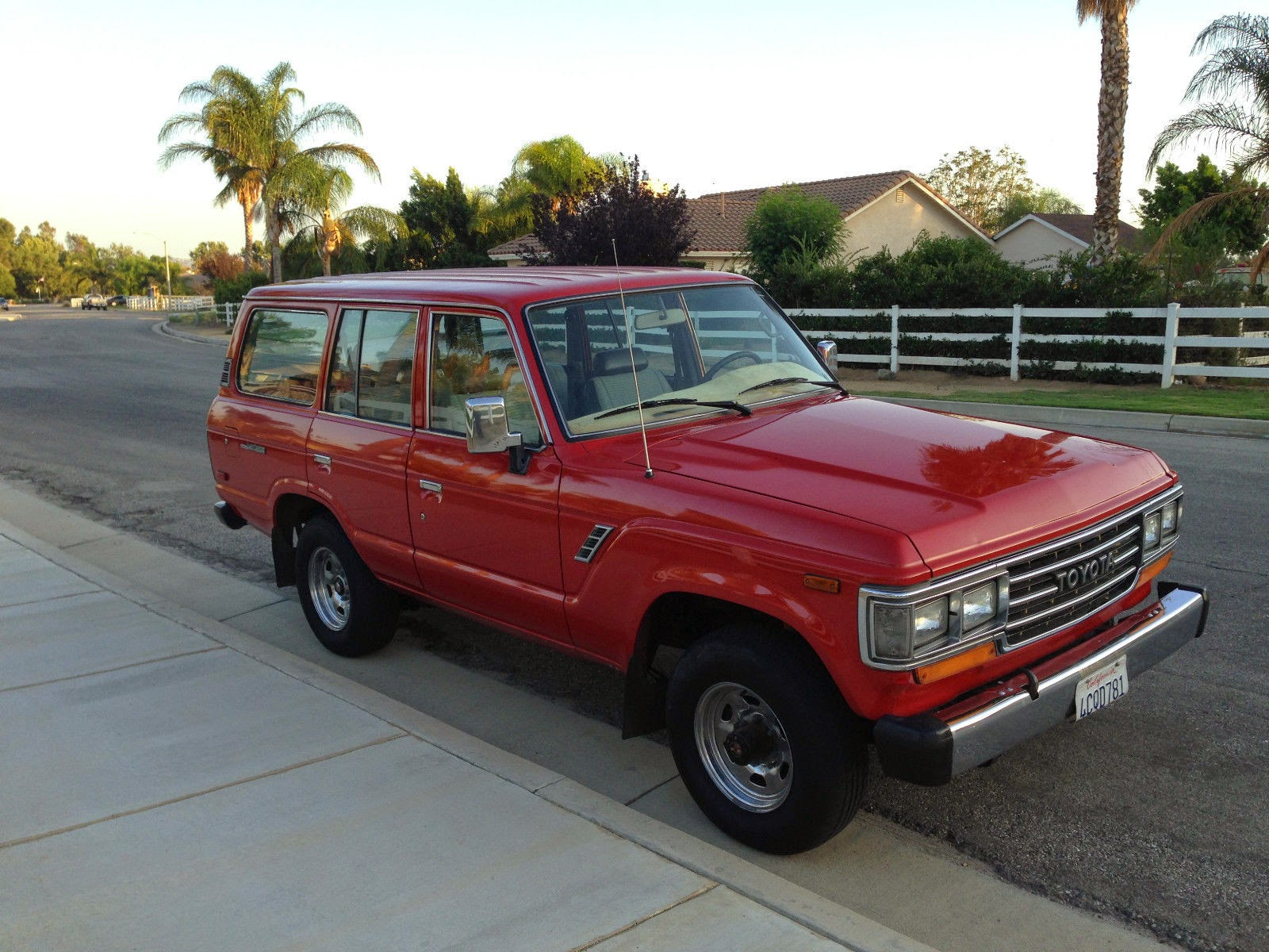 1989 toyota land cruiser fj60 for sale 4x4 cars. Black Bedroom Furniture Sets. Home Design Ideas