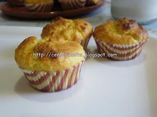Muffin al cocco e ricotta