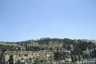 terra santa jerusalem - vista do monte das oliveiras