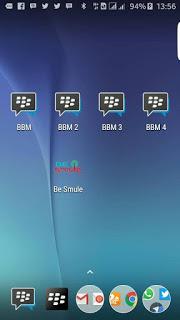 BBM MOD Multi BBM 1 + BBM 2 + BBM 3 + BBM 4 Terbaru v3.0.0.18 APK