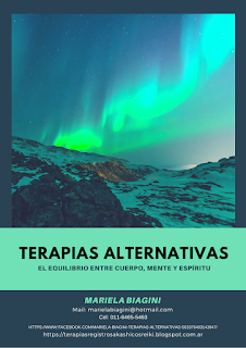 Flyers Terapias Alternativas para promoción