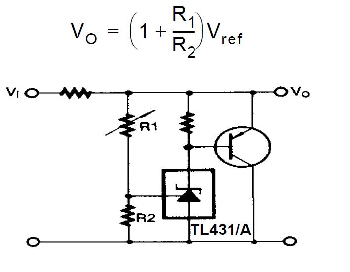 Explaining Programmable Shunt Regulator TL431, Datasheet