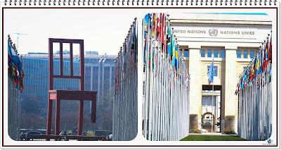 United Nations Headquarters office in Geneva, Switzerland