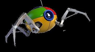 googlebot yang mengumpulkan data