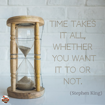 "Quotes About Change To Improve Your Life: ""Time takes it all, whether you want it to or not."" ― Stephen King"