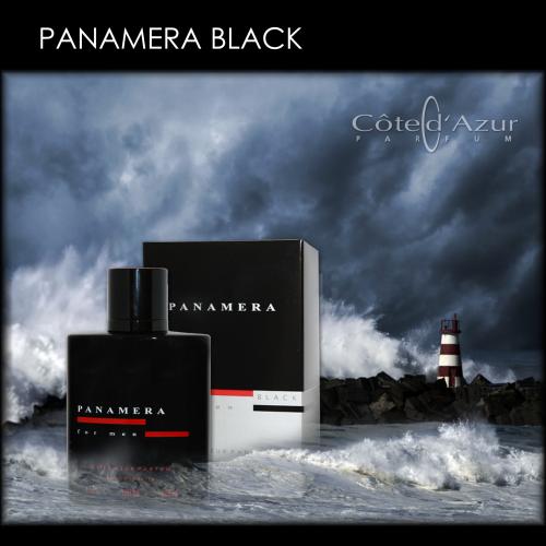Cote Azur Panamera Black - Eau de Toilette für Herren 100 ml