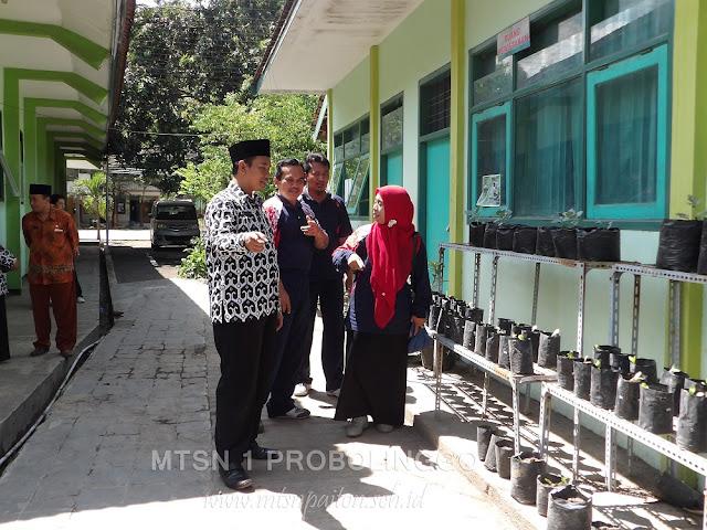 Kunjungan Dan Kerjasama MIN 2 Probolinggo Ke MTsN 1 Probolinggo