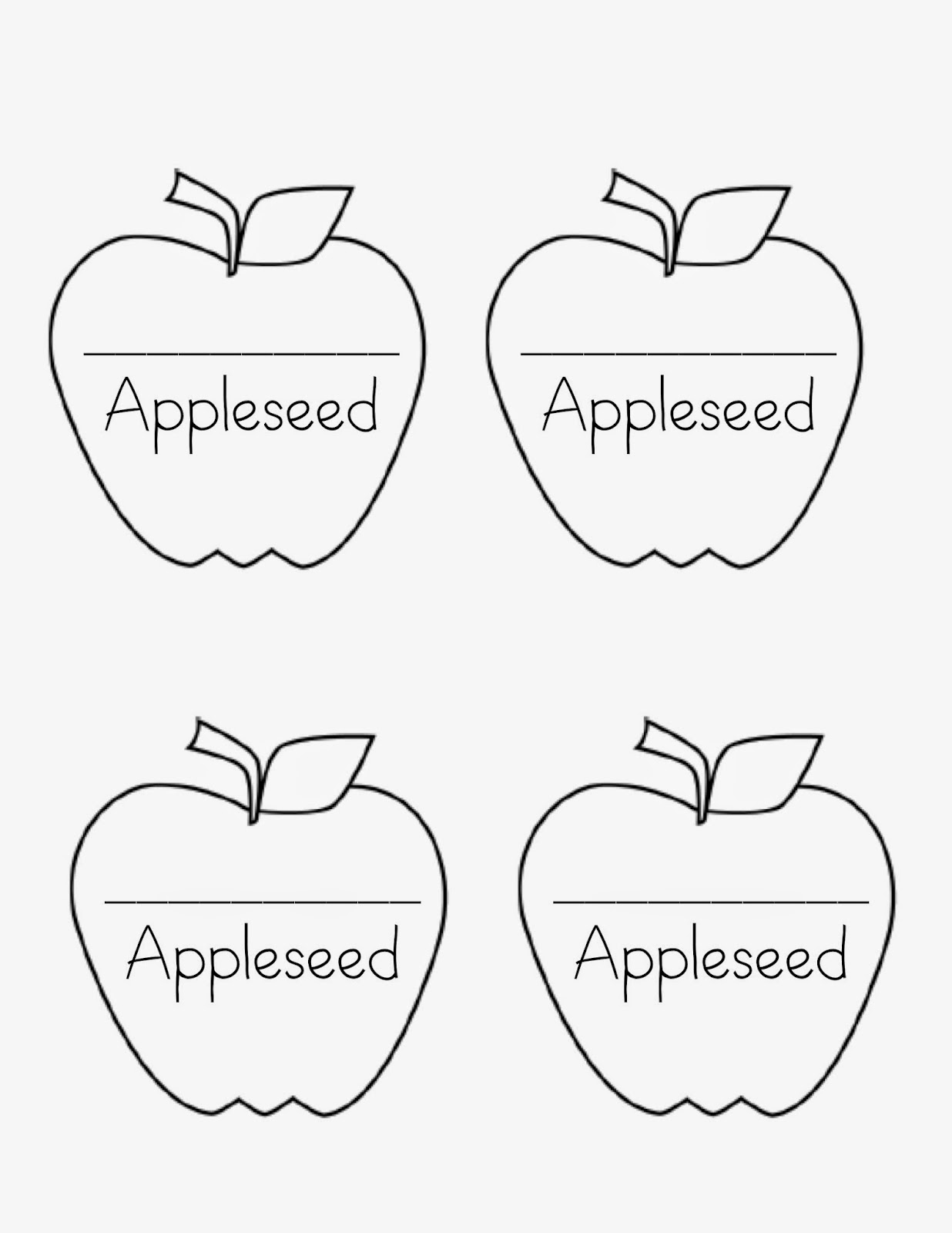 Teaching With Heart Johnny Appleseed Day Freebies