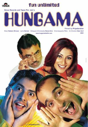 Poster of Hungama 2003 [Full-Hindi-Movie] 720p HDRip x264 Download