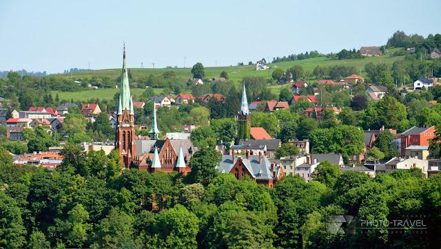 Panorama Nowej Rudy - Nowa Ruda - atrakcje turystyczne, informacje praktyczne o mieście