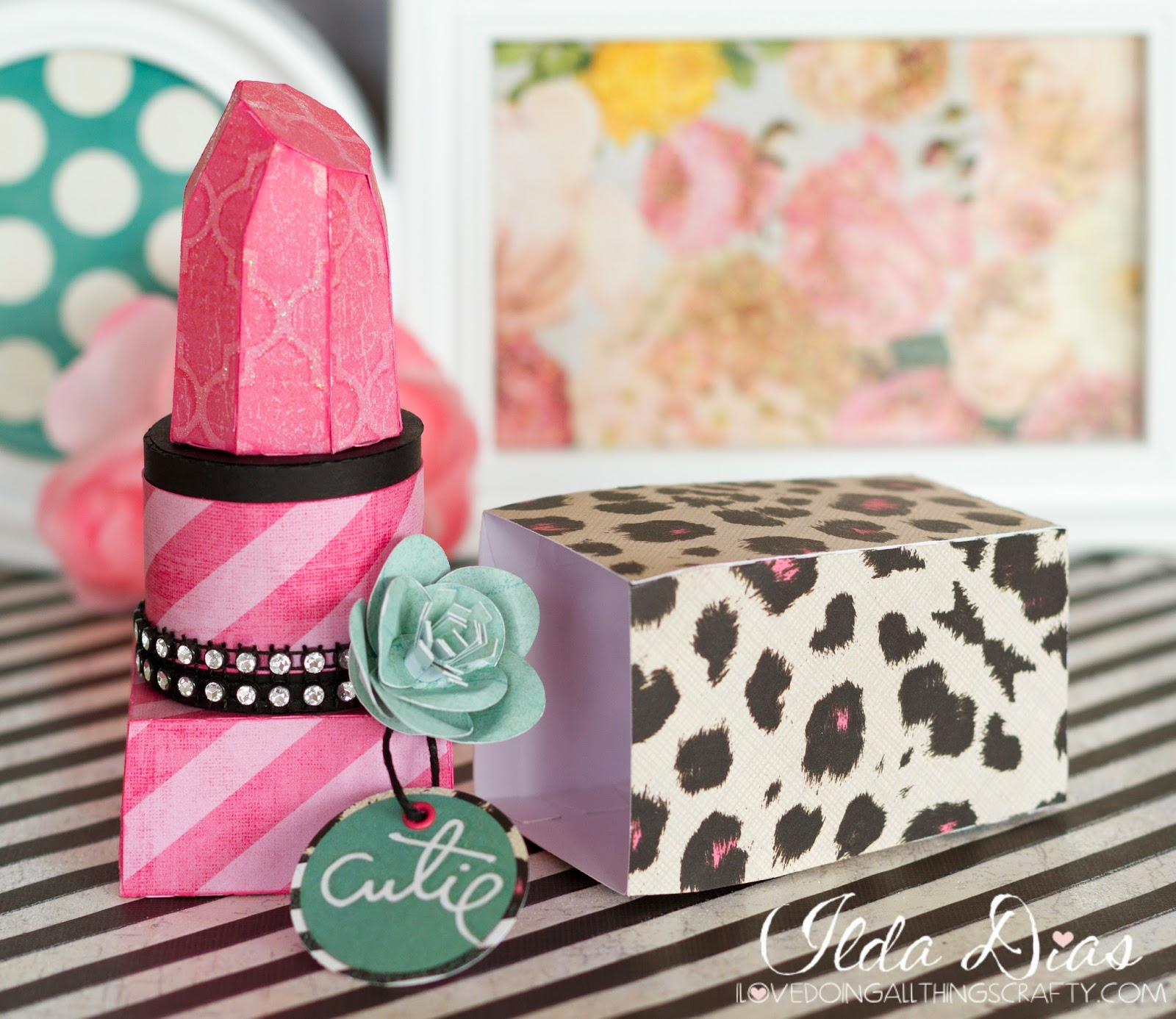 i love doing all things crafty 3d lipstick box