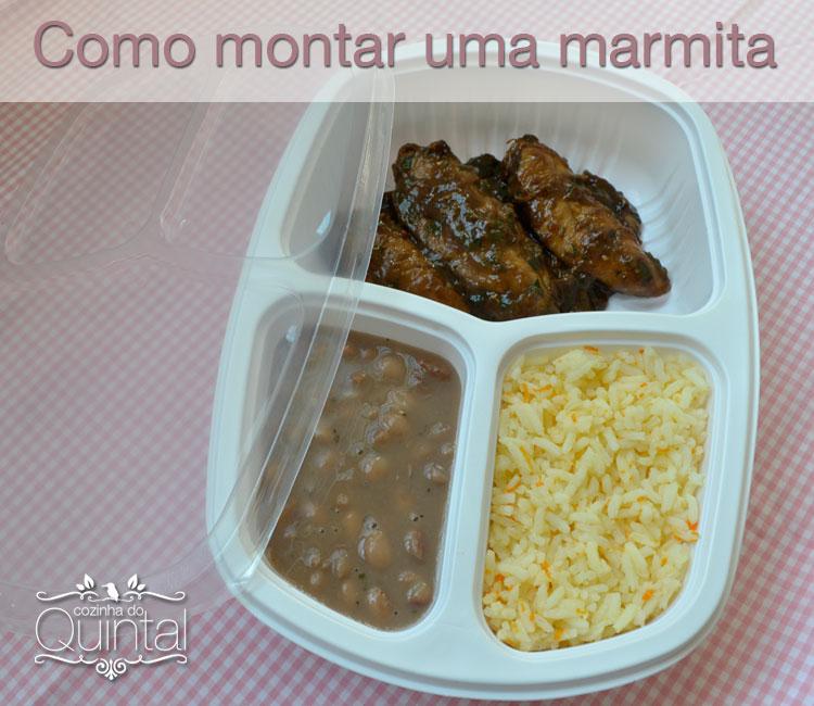 Tudo sobre marmitex você encontra no blog Cozinha do Quintal =) Bandeja para refeição Galvanotek